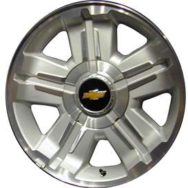 Premium Replacement 18x8 Aluminum Alloy 5 Spoke Wheel, Rim - 5300