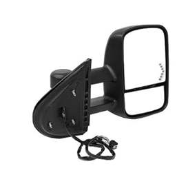 2012 Chevrolet Silverado 2500 HD Aftermarket Passenger Side Door Mirror Assembly - GM1321354