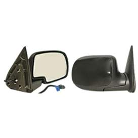 2003 Chevrolet Silverado 2500 HD Aftermarket Passenger Side Door Mirror Assembly - GM1321362