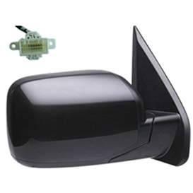 2013 Honda Pilot Aftermarket Passenger Side Door Mirror Assembly - HO1321248