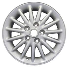 2000 Chrysler Town and Country 16x6.5 Aluminum Alloy 15 Spoke Wheel, Rim ALY02107U15-00CHTO-2