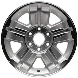 2007 Chevrolet Avalanche 18x8 Aluminum Alloy 5 Spoke Wheel, Rim