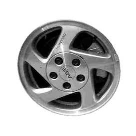 1999 Pontiac Grand Am 15x6 Aluminum Alloy 5 Spoke Wheel, Rim ALY06532U10-99POGR-1