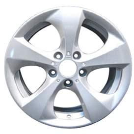 2011 BMW X3 17x8 Aluminum Alloy 5 Spoke Wheel, Rim ALY71475L20-11BMX3-1