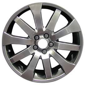 2009 Land Rover Range Rover 19x9 Aluminum Alloy 5 Split Spoke Wheel, Rim ALY72195U20-09LARA-4