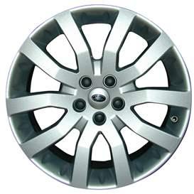 2007 Land Rover Range Rover 20x9.5 Aluminum Alloy 5 V Spoke Wheel, Rim ALY72196U20-07LARA-2