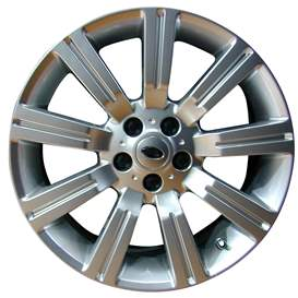2007 Land Rover Range Rover 20x9.5 Aluminum Alloy 9 Spoke Wheel, Rim ALY72200U20-07LARA-2