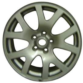 2007 Land Rover Range Rover 19x9 Aluminum Alloy 5 V Spoke Wheel, Rim ALY72204U85-07LARA-2