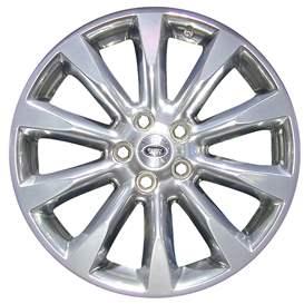 2007 Land Rover Range Rover 20x8.5 Aluminum Alloy 10 Spoke Wheel, Rim ALY72209U80-07LARA-2