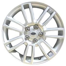 2009 Land Rover Range Rover 19x8 Aluminum Alloy 7 Double Spoke Wheel, Rim ALY72210U20-09LARA-1