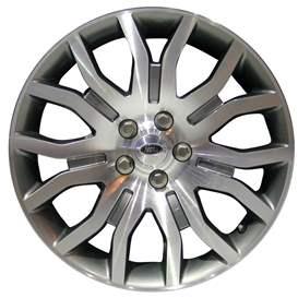 2009 Land Rover Range Rover 20x8.5 Aluminum Alloy 14 Spoke Wheel, Rim ALY72212U35-09LARA-1
