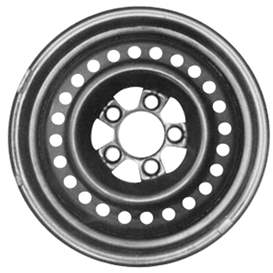 2000 Chrysler Town and Country 15x6.5 Steel 24 Hole Wheel, Rim STL02072U45N-00CHTO-5