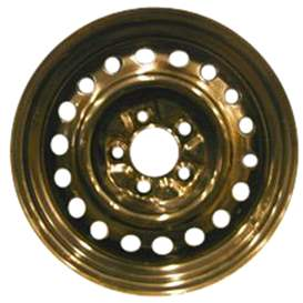 2000 Chrysler Town and Country 16x6.5 Steel 18 Hole Wheel, Rim STL02075U45-00CHTO-5